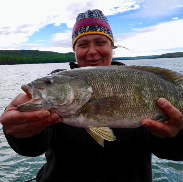 Smallmouth Bass Fishing Guide | Cutler's Catch Guide Service | Glen Arbor MI