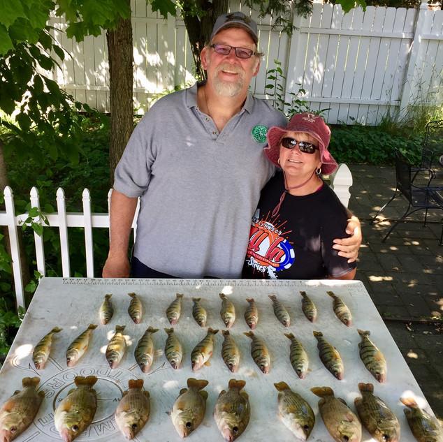 Glen Arbor Charter Fishing | Perch Fishing Glen Lake | Glen Arbor MI