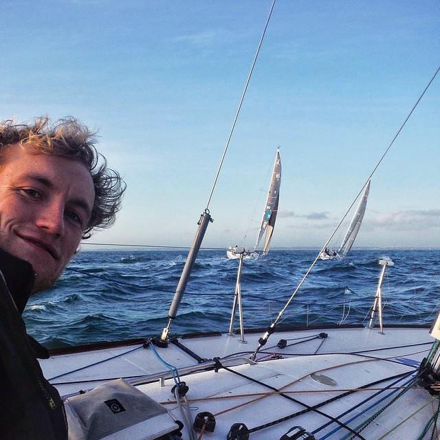 Instagram - Training in Lorient #sailing #voile #solitare #solo #sea #sky #adven