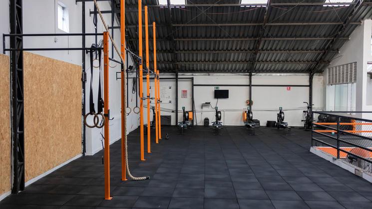 Área de treino Superior