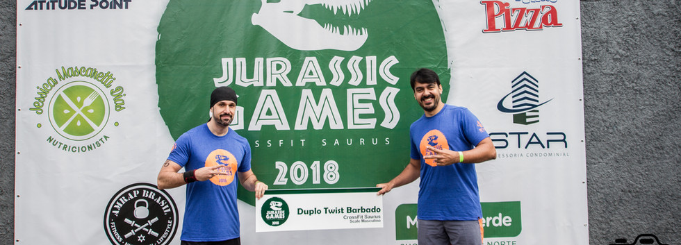 JURASSIC GAMES 2018