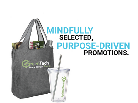 Communicate Sustainability Efforts with Mindfully Selected & Purposefully Designed Branded Products