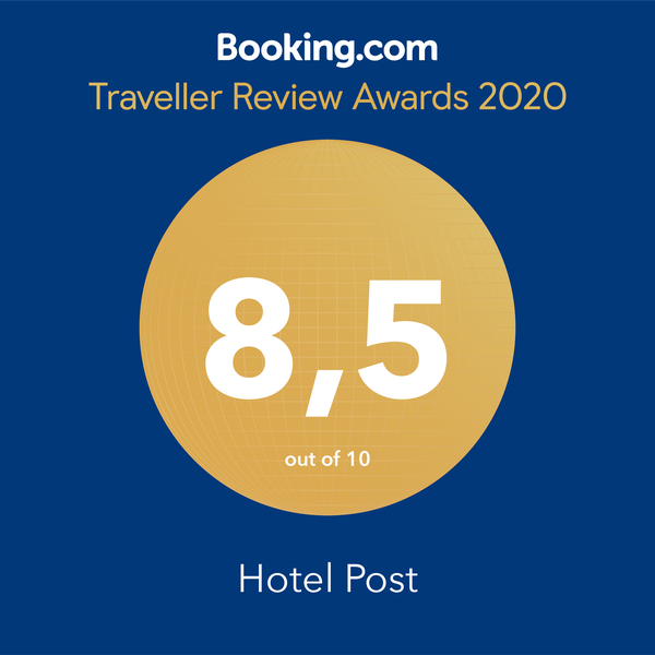 Booking.com 8.5 Hotel Post