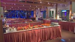 Silvesterbuffet Hotel Post Sargans, Heidiland