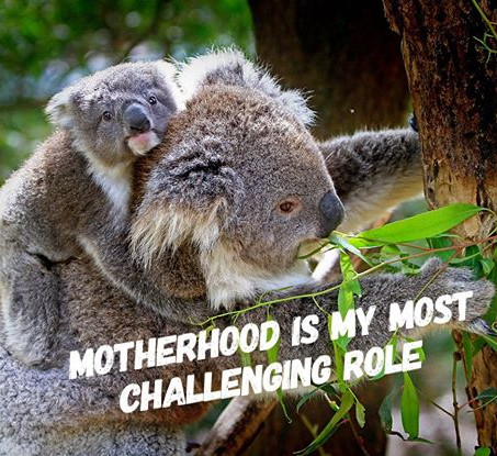 Motherhood is My Most Challenging Role