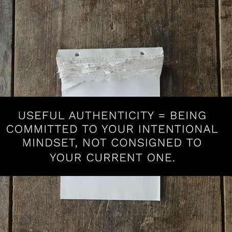 Being Committed to Your Intentional Mindset
