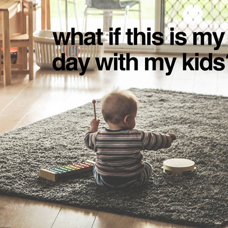 What if This is My Last Day With My Kids?