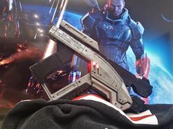 Folding Mass Effect Pistol