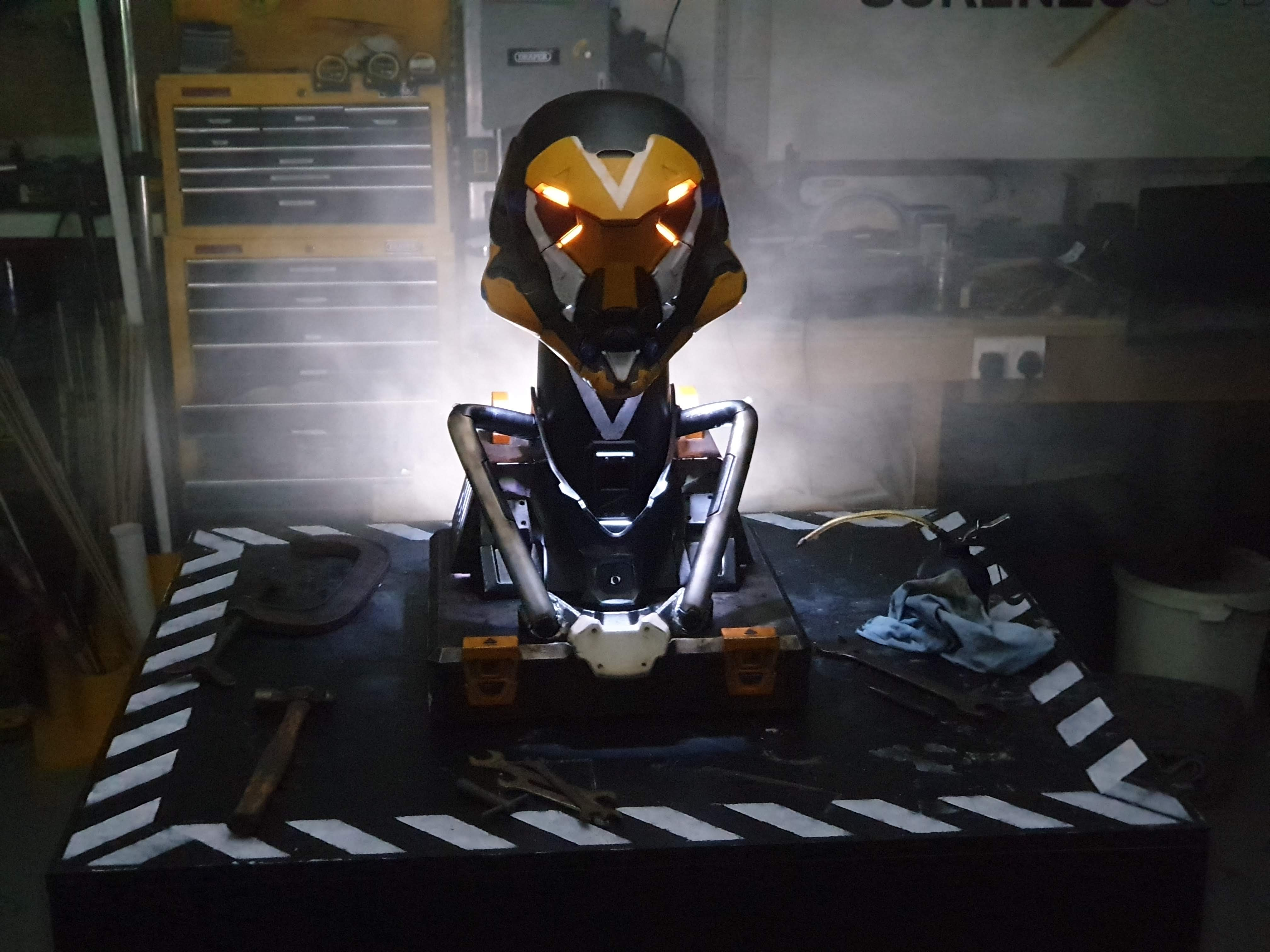 Anthem Helmet and Stand