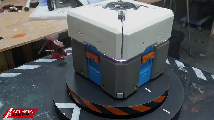Mechanical Engagement ring box based on Overwatch