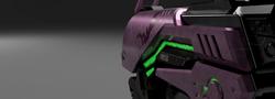 D.VA pistol close up render