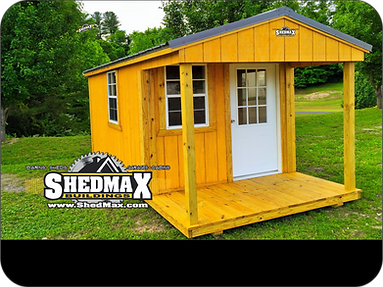 ShedMax Front Porch Shed