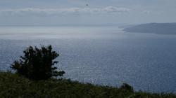 View towards Lyme Regis