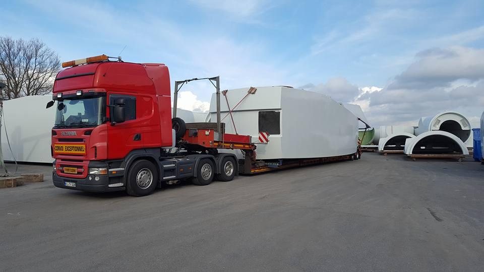 Ein Maschinenhaus für Die Windcraft