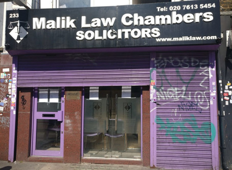Malik law Chambers Closed Down call MYM Solicitors - Your Trusted Solicitors