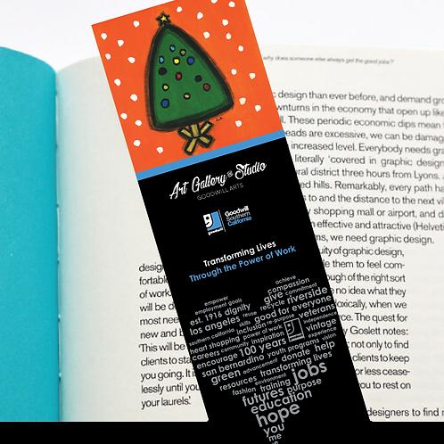Christmas Tree - Book Mark