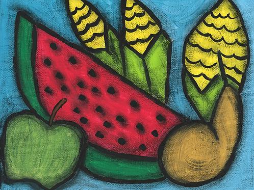 Frutas - Poster