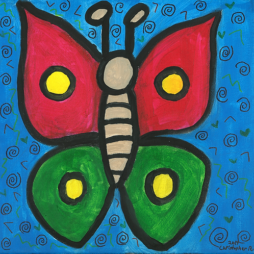 Big Butterfly - Poster
