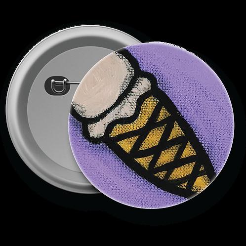 Ice Cream Cone - Button