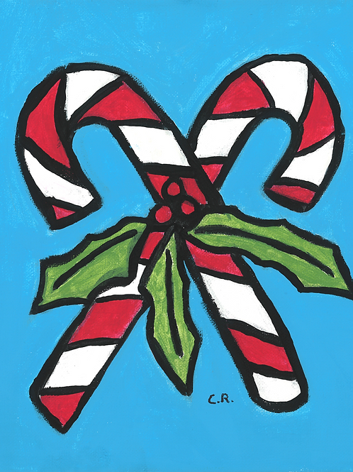 Candy Cane - Poster