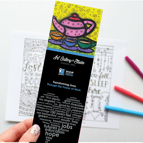 Tea Pot - Book Mark