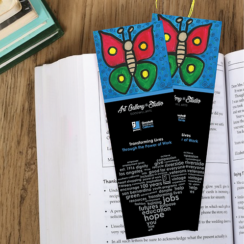 Big Butter Fly - Book Mark