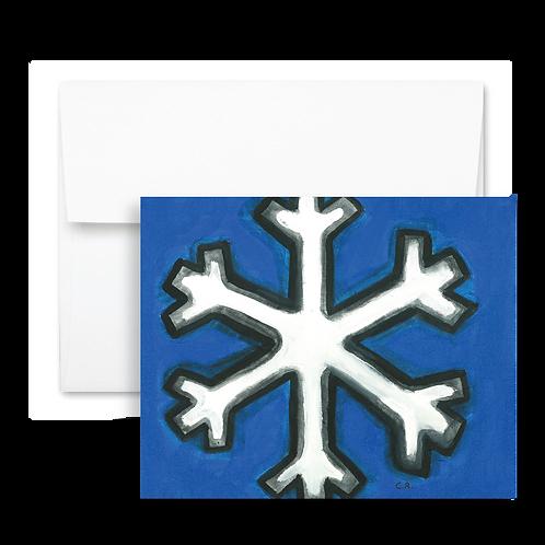Snowflake - Holiday Card (12ct)