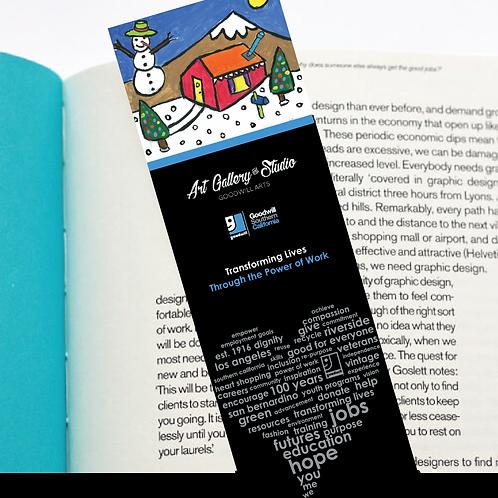 Snowman House - Book Mark