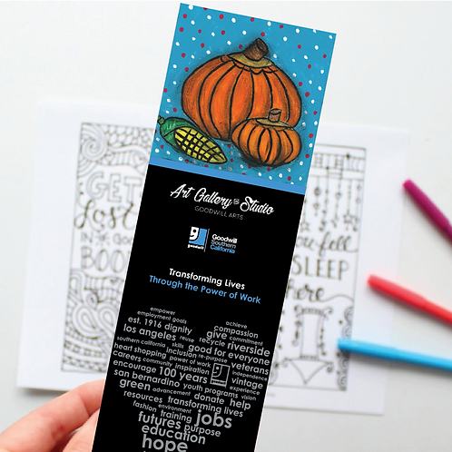 Pumpkin - Book Mark