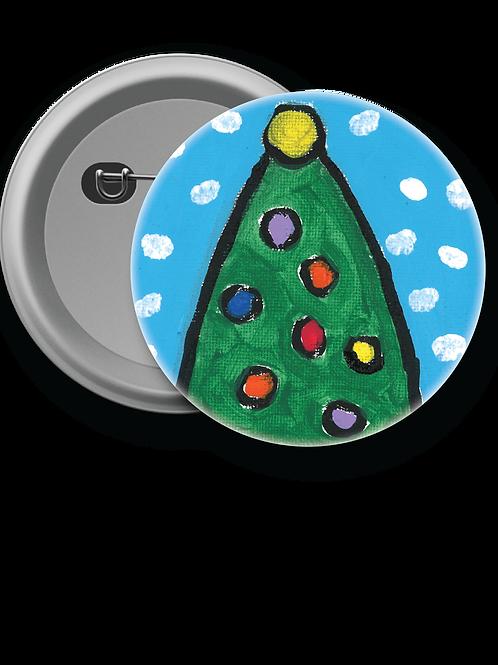 Little Christmas Tree - Button