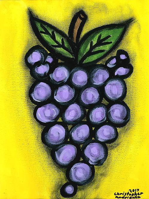 Grapes - Poster