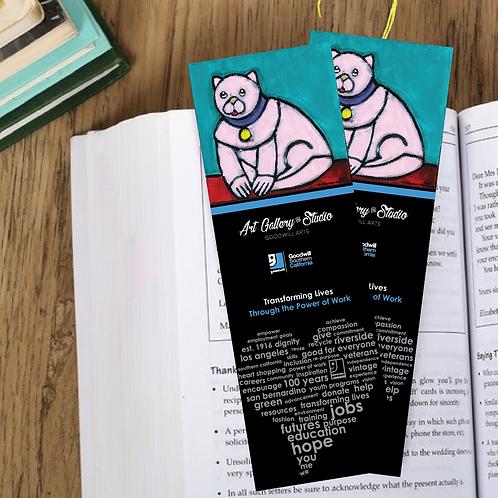 Pink Cat - Book Mark