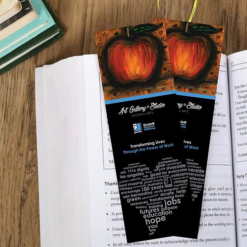 Halloween Apple - Book Mark