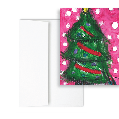Christmas Tree - Holiday Card (12ct)