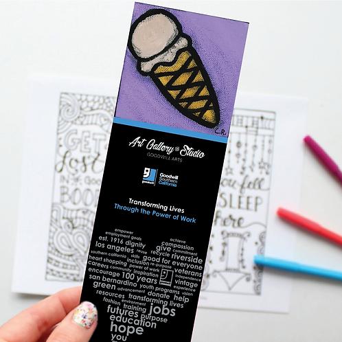 Ice Cream Cone - Book Mark