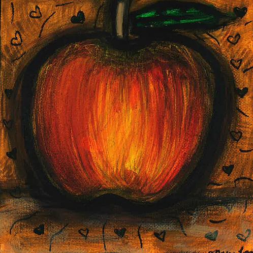 Halloween Apple - Poster