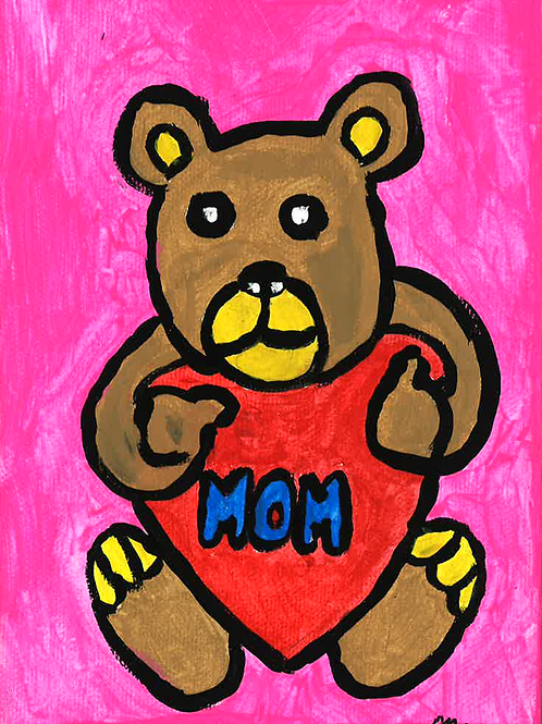 Mother's Day Bear - Poster