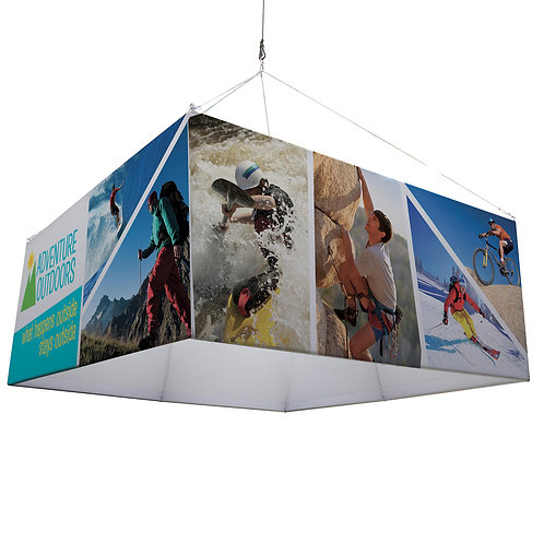 8' Square EuroFit Hanging Banner Kit