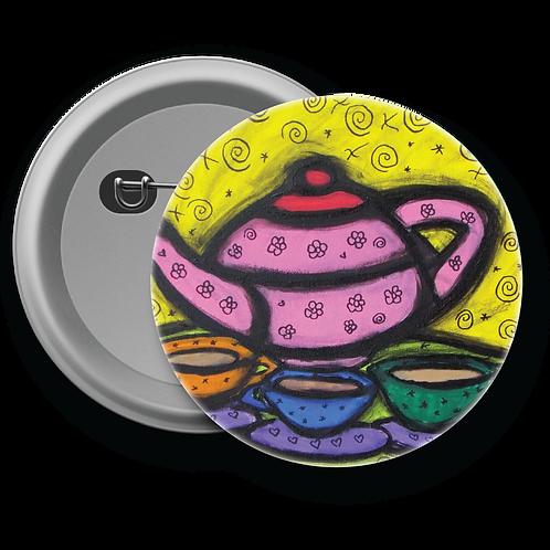 Tea Pot - Button