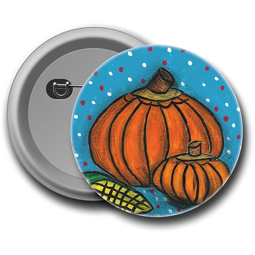 Pumpkin - Button