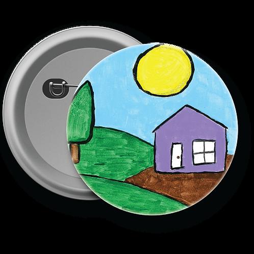 House on Mountain - Button