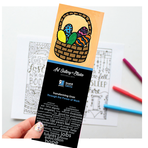 Easter - Book Mark