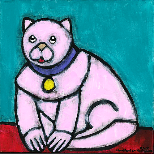 Pink Cat - Poster