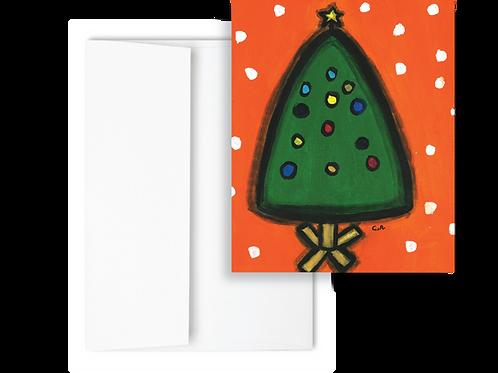 Christmas Tree - Holiday Card (12ct)