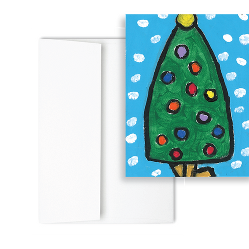 Little Christmas Tree - Holiday Card (12ct)