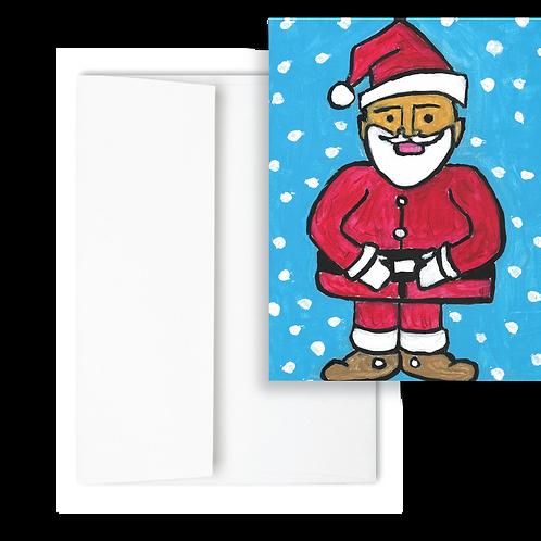 Santa - Holiday Card (12ct)