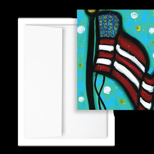 Flag - Greeting Card (12ct)