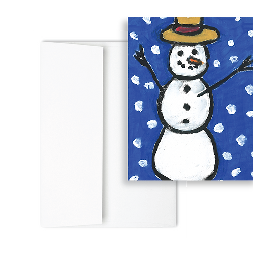 Snowman- Holiday Card (12ct)