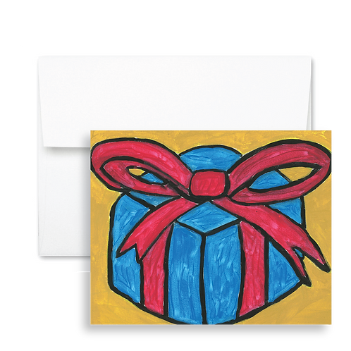 Present - Holiday Card (12ct)