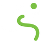 Upskilled running man logo